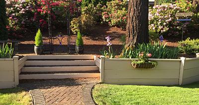 Victoria's garden