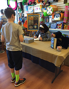 Kazoodles book signing