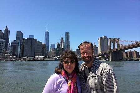 Victoria & Michael in New York City